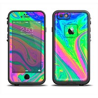 The Neon Color Fushion V3 Apple iPhone 6 LifeProof Fre Case Skin Set