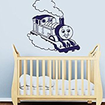 Wall Decal Vinyl Sticker Decals Art Decor Design Train Thoo Thoo baby Kids Children Bedroom Nursery (r1027)