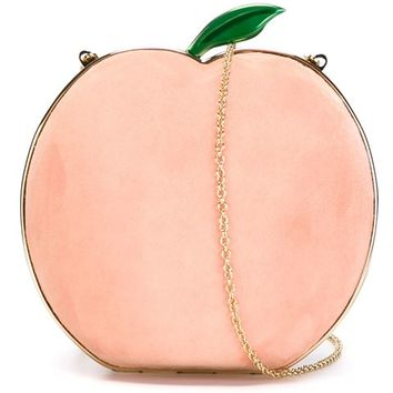 Charlotte Olympia 'what A Peach' Clutch - Biondini Paris - Farfetch.com