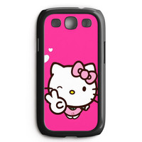 Hello Kitty Girl Samsung Galaxy S3 Case