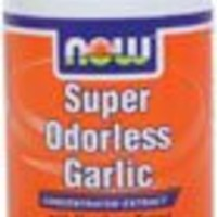 Now Foods Super Odorless Garlic, 90 Vcaps