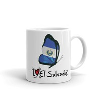 I love El Salvador Coffee Mug - El Salvador Mug