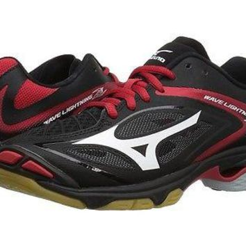 Mizuno Wave Lightning Z3 Women's Volleyball Shoes - Black/Red