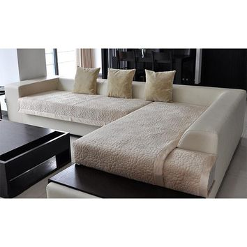 1pcs sofa cover sectional modern slipcover suede fabric towel cover for the sofa simple sofa sets for living room home decor