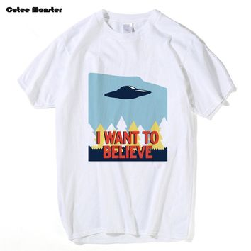 X-Files I Want To Believe T-shirt