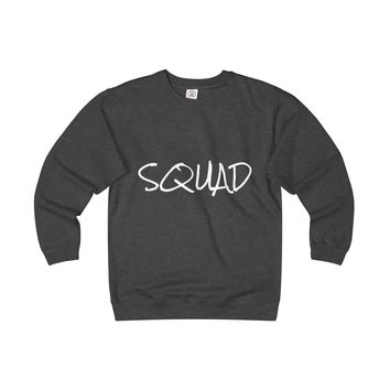 Squad Unisex Heavyweight Fleece Crew