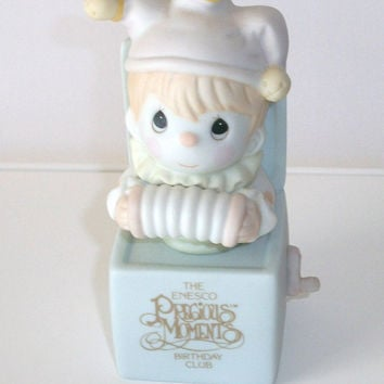 Precious Moments Jester Clown, Jest to Let You Know You're Tops Figurine 1991