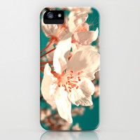 cherry blossom iPhone & iPod Case by blackpool