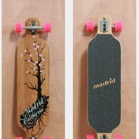 "MADRID 39"" CHERRY BAMBOO LONGBOARD COMPLETE"
