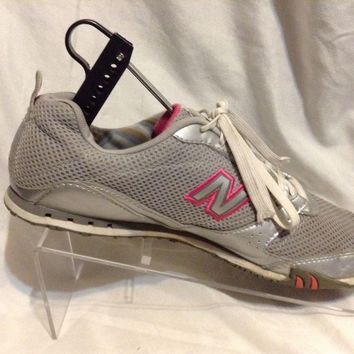 new balance trainers wa460sp silver pink women s running tennis shoes sz 9 5