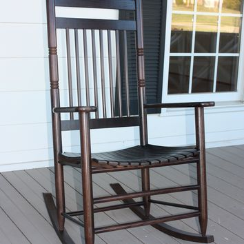 Dixie Seating Co. Calabash Wood Rocking Chair No. 467S - Ships within  2 to 4 Weeks