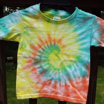 Toddler Tie Dye Shirt, 4T Tie Dye TShirt, Toddler Hippie Shirt, 4T TieDye, Toddler boys, Toddler girls, 4 year old gift, 4yo clothes, boho