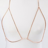 Simple Bra Style Body Chain