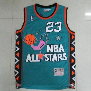 DCCKJ3V NWT #23 NBA Chicago Bulls 23 Michael Jordan All Star Jersey Men
