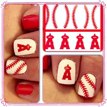 Anaheim angels name decals