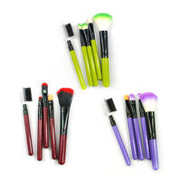 Makeup Brush Set Eyeshadow, Blush Brush Eyebrow 5 Piece Set