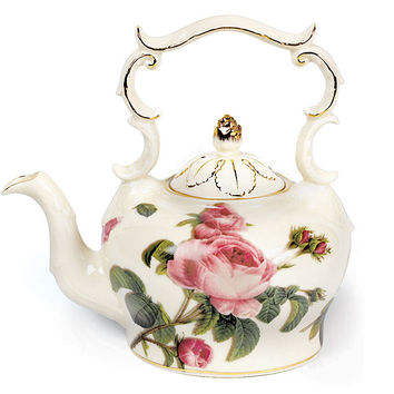 Teapot Romantic Rose