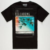 Billabong Turbulence Mens T-Shirt Black  In Sizes