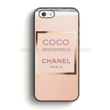 Coco Chanel Perfume Quotes Mademoiselle iPhone SE Case  | Aneend.com