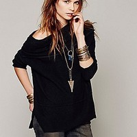 Free People  Let It Be Cowl Neck at Free People Clothing Boutique