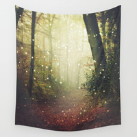Forest of Miracles and Wonder Wall Tapestry by Dirk Wuestenhagen Imagery