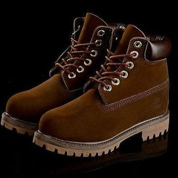 Timberland Rhubarb Boots Coffee 2018 Waterproof Martin Boots