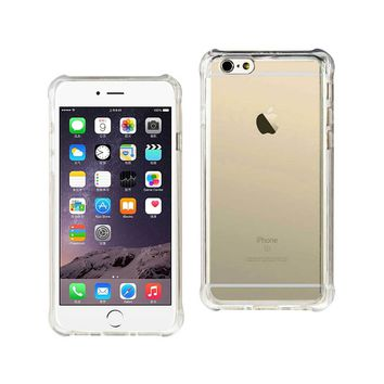 New Mirror Effect Case With Air Cushion Protection In Clear For iPhone 6 Plus