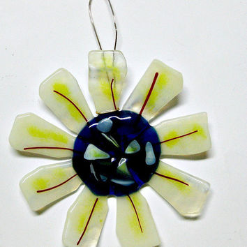 Fused Glass Flower for Your Garden