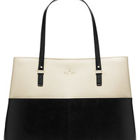 Kate Spade Grand Street Colorblock Gabriel Porcelain/Black ONE