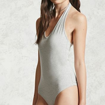 Fitted Halter Bodysuit