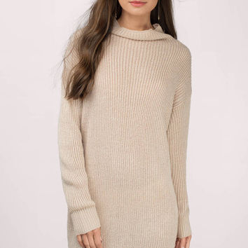 Up To It Sweater Dress