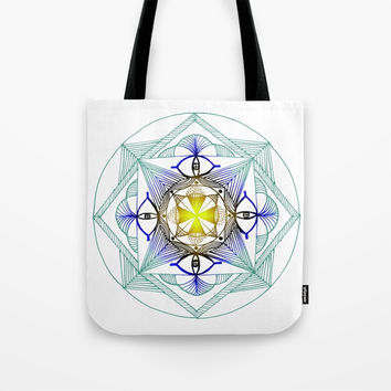 Egypt Zentangle Tote Bag by Shashira Handmaker