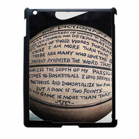 Nike Just Do It Quote Basketball iPad 3 Case