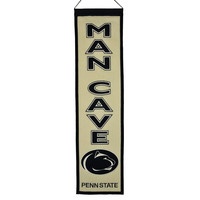 Penn State Nittany Lions NCAA Man Cave Vertical Banner (8 x 32)