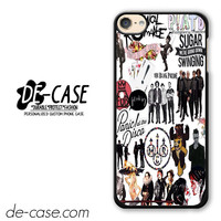 Fall Out Boy My Chemical Romance Panic! At The Disco DEAL-4050 Apple Phonecase Cover For Ipod Touch 6