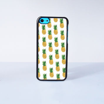 Pineapple Plastic Case Cover for Apple iPhone 5C 6 Plus 6 5S 5 4 4s