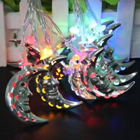 Christmas Lights Vivid Moon Gardens decoration Fairy String Light For Outdoor