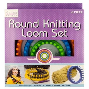 Round Knitting Loom Set (pack of 2)