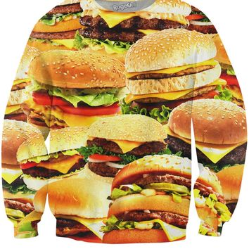 Fast Food Crewneck Sweatshirt