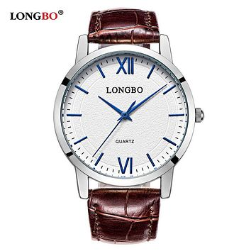 Luxury Quartz Watch Casual Fashion Leather Lovers Watches Men Women Couple Watch Sports Analog Wristwatch