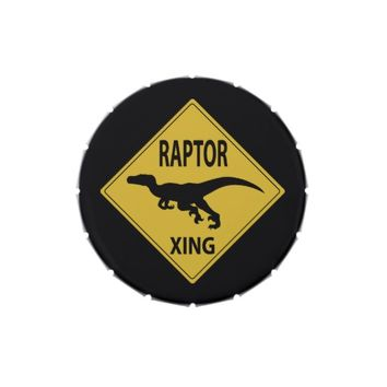 Raptor Xing Jelly Belly Candy Tins