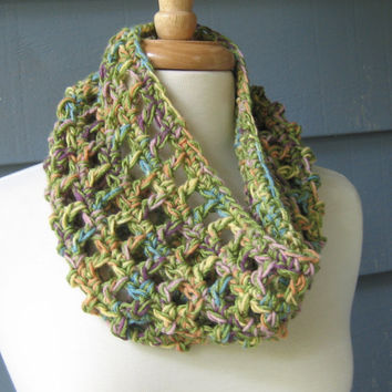 The Karina Cowl Soft Comfy Lightweight Original by by ArtsyCrochet