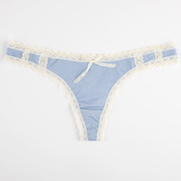 Bees Will Buzz Thong Blue  In Sizes