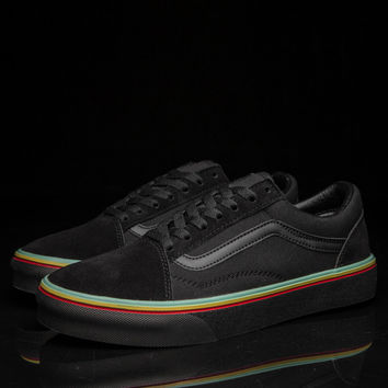 Trendsetter Vans Canvas Old Skool Multicolor Flat Sneakers Sport Shoes