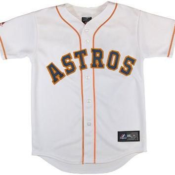 MLB Houston Astros Replica Jersey, White, Small