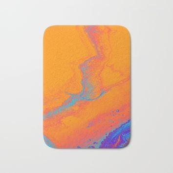 Dare You Bath Mat by DuckyB