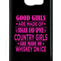 Country Girl® Sugar & Spice Pink Samsung Galaxy S6 Case/Cover