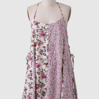 Sable Rose Printed Dress