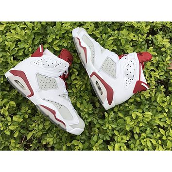 Air Jordan retro 6 Hare for men and women Sneakers