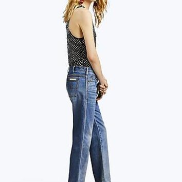 Relaxed Indigo Denim Jeans | Marc Jacobs